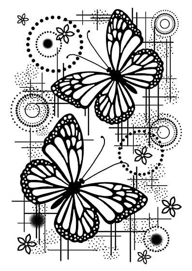 Woodware Clear Singles - Butterfly Dream