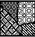 Woodware Stencil Quattro