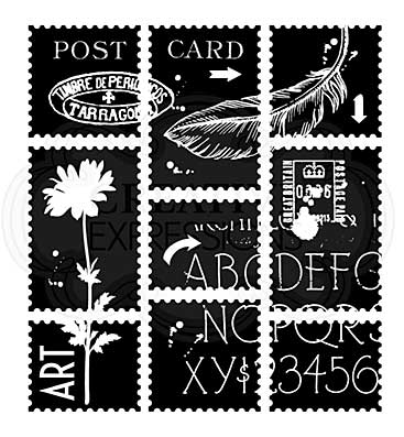 Postage Sheets, Woodware Clear Singles Stamp [1019]