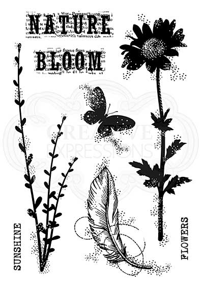 Blooming Nature, Woodware Clear Singles Stamp [1019]