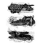 Text Patches, Woodware Clear Singles Stamp [1019]