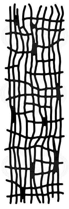 Woven Mesh, Woodware Stencil [1019]