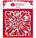 Woodware Flower Centre 6 x 6 Stencil [WW2001]