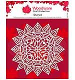 Woodware Aztec Mandala 6.8 x 6.8  Stencil [WW2001]