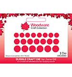 Woodware Jane Gill Bubble Craft Die
