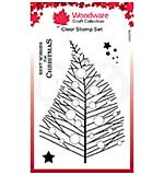 Woodware Clear Singles Bubble Twiggy Tree Stamp (4 x 6)