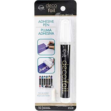 Deco Foil Adhesive Pen (0.34fl oz)