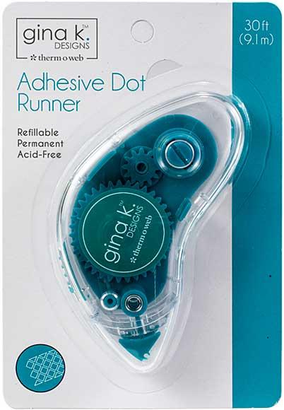SO: Gina K Designs Adhesive Dot Runner - Permanent (30ft)