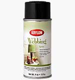 SO: Krylon Webbing Spray - Lava Black