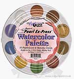 Pearlex Palette - Pearlescent Metallic (Shimmering Watercolour P