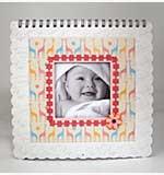 10x10 - Moment and Memories Thirteen Month Calendar - Baby Girl