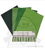 SO: Dovecraft A4 Felt Multipack - Green