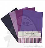 SO: Dovecraft A4 Felt Multipack - Purples