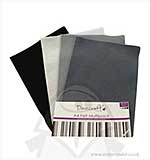 SO: Dovecraft A4 Felt Multipack - Black and Greys