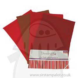 SO: Dovecraft A4 Felt Multipack - Reds