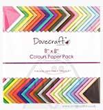 SO: Dovecraft Essentials 8x8 Colours Paper Pack