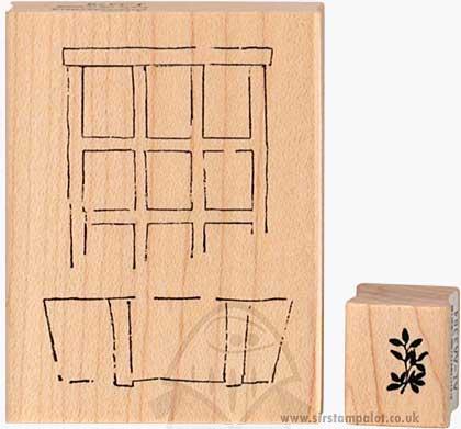 Scenic Watercolours - Window Box and Vine
