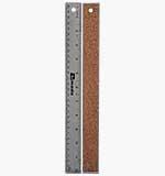 Cork backed Ruler - 12 inch Metal Ruler
