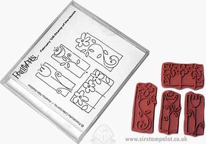 SO: Sweet Pea Garden - EZ Mount Stamp Set
