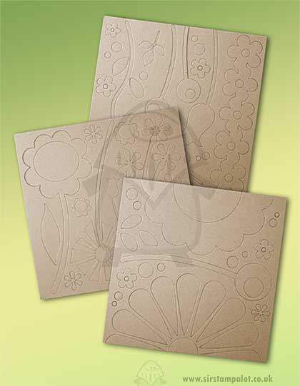 Fancy Pants Chipboard Shapes - Wild Flowers