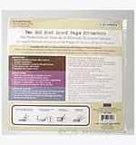 Colorbok 8x8 - Postbound Scrapbook Page Protectors