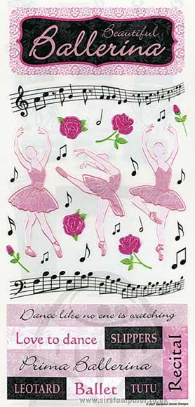 Stickers - Ballet