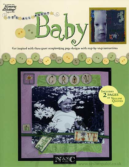 Its All About Baby - Scrapbook Ideas