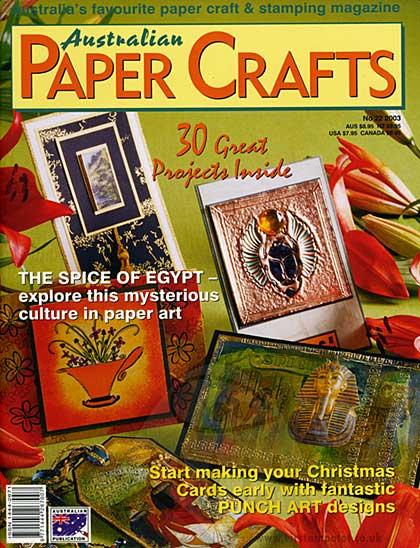 Paper Crafts Magazine - 2003 - Issue 22