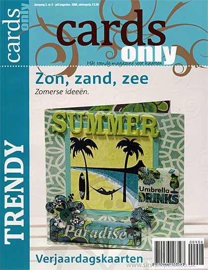SO: Cards Only Magazine - 8 - July August 2009 (dutch text)