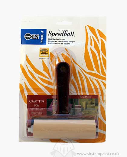 Speedball - (Pop In) Soft Rubber Brayer