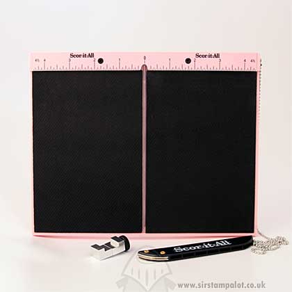 "SO: Scor-It-All Mini Board - Pink (6"") Imperial and Metric [6SCO"