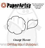 SO: PaperArtsy Cutting Dies - Grunge Flower #1