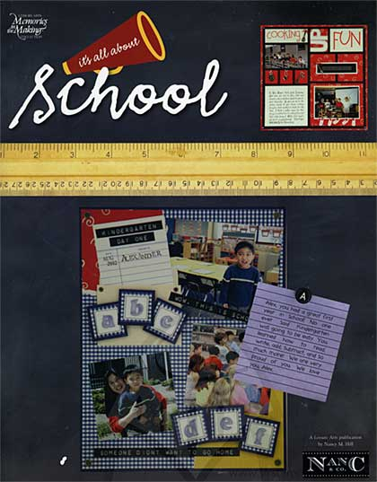 Leisure Arts - Its All About School magazine