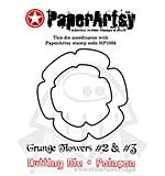 PaperArtsy Cutting Dies - Grunge Flowers 2 and 3