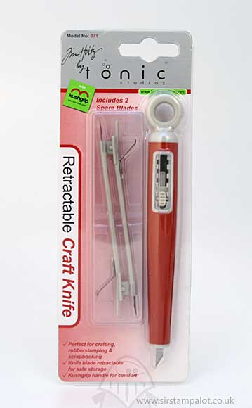 SO: Tim Holtz - Tonic Studios - Retractable Craft Knife + 2 Spare Bl