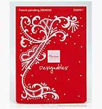 SO: Marianne Design - Designables: Swirls (embossing folder) [D]