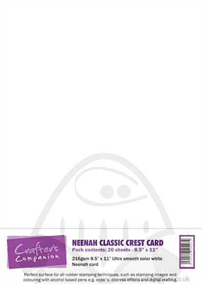 SO: Neenah Classic Crest Card Pack (16 x A4 sheets)