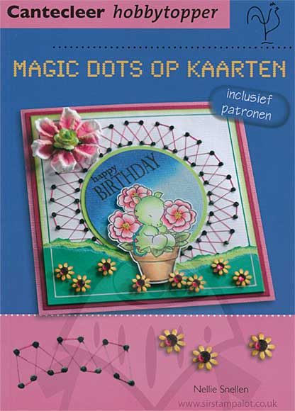 Hobby Topper  - Magic Dots on Cards Book (dutch text)