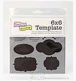 SO: Crafters Workshop 6x6 Template - Mini Journalling Blurbs