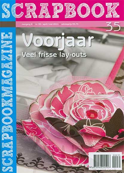 Scrapbook Voojaar Spring Magazine - Issue 35 (dutch text based)