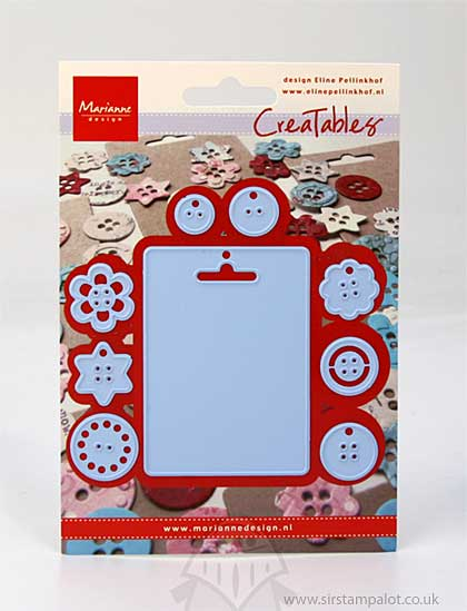 Marianne Design - Creatables - Tags and Buttons