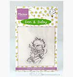 Marianne Design - Don and Daisy Clear Stamp - Skating Don