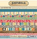 SO: October Afternoon 8x8 Paper Pad - Sasparilla