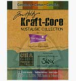 Coredination 4.25 x 5.5 Tim Holtz Kraftcore Nostalgic Collection