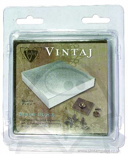 Vintaj - Steel Bench Block
