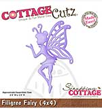 Cottage Cutz - 4x4 Cutting Die - Filigree Fairy