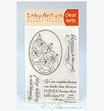 SO: Inky Antics - Clear Stamp set - Rose Oval