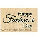 SO: Inky Antics - Wood Stamp - Small Fathers Day