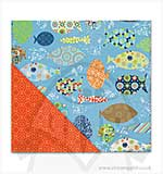 SO: 12x12 Paper - Splash - Big Fishes/Kumquat Geo