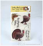 SO: Inky Antics - HoneyPOP Clear Stamp set - Turkey